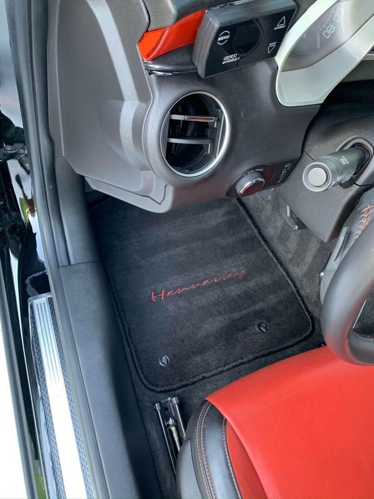 Chevy Camaro SS Hennessey floor mats