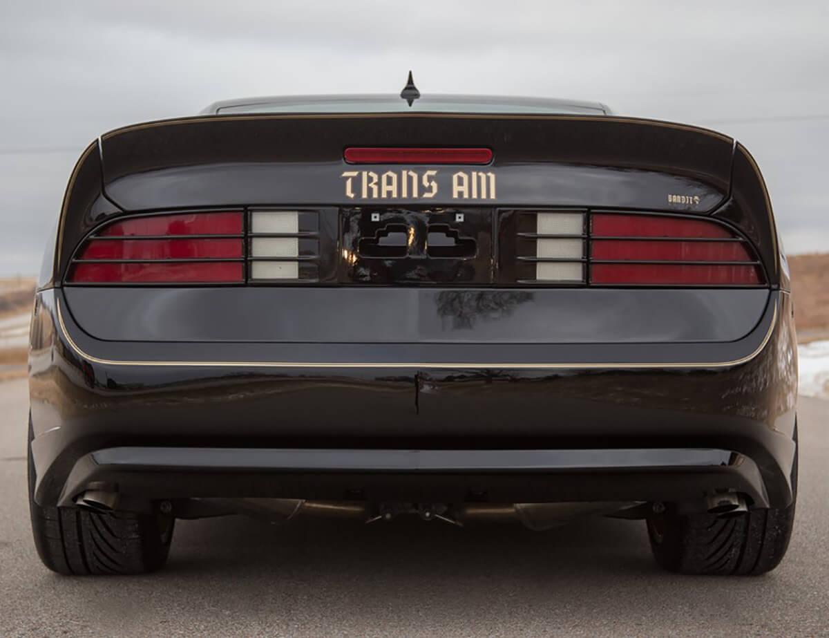 Chevy Camaro Pontiac Trans AM rear end conversion